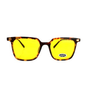 "OCCHIALI DA SOLE "" QUADRO COLORS "" MACULATE YELLOW"