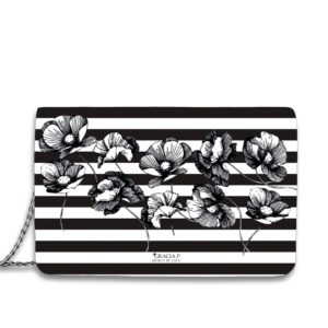 """Borsa Flower Stripes by Liza Design Bags feat Gracia P """" Limited Edition """""""