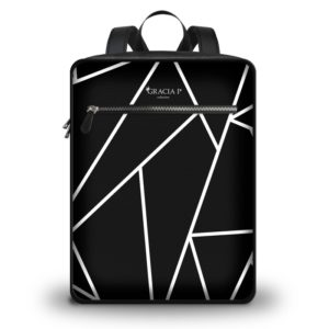 "Zaino Travel "" Abstract Black e White """