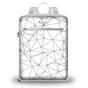 "Zaino Travel "" Abstract Black e White "" White"