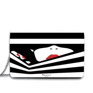 "Borsa "" Lady Stripes """