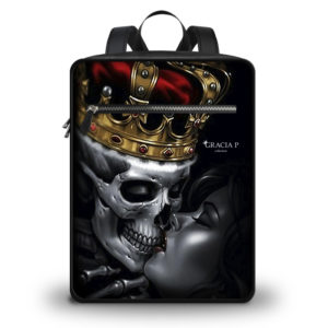 "Zaino Travel "" Skull Kiss """